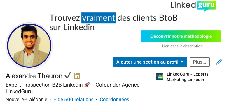 symboles smileys linkedin Optimiser son profil
