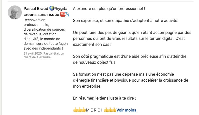 Avis programme Linkedguru